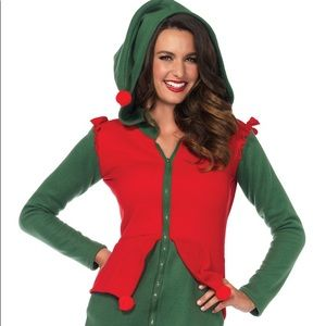 Leg avenue cozy elf costume